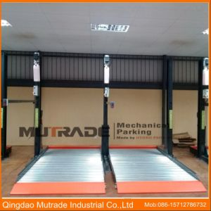 Double Floors Car Parking Lift Hydraulic Vertical Auto Stacker pictures & photos