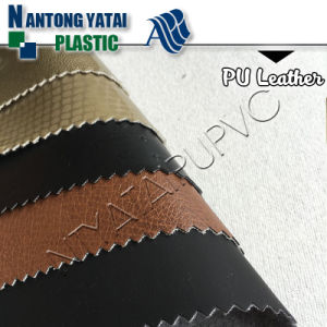Mirror Pattern Durable PU Leather for Making Chair/Sofa/Bed/Furniture