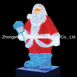 Giant Lighted LED Commercial Grade Santa Claus Christmas Decoration Display pictures & photos