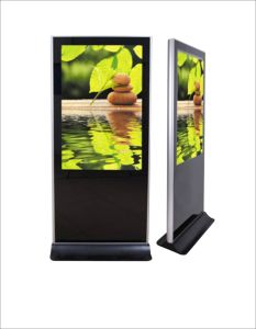 Video Advertising Player Built with Toughened Glass Panel (SAD5501)
