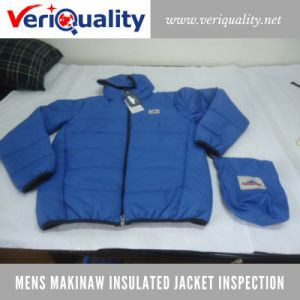 Mens Makinaw Insulated Jacket Quality Control Inspection Service at Jiangmen, Guangdong pictures & photos
