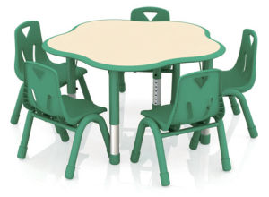 2016 Preschool Furniture Plastic Chindren Table pictures & photos