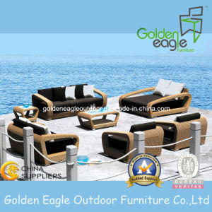 China Outdoor Furniture Wicker/Rattan Sofa Set, Modern Furniture