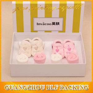 Color Printing Cute Baby Shoe Box Packaging pictures & photos