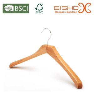Luxury Wooden Suit Hanger for Garment Brands (MC049) pictures & photos