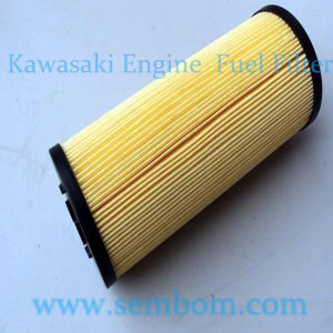 High Performance Engine Fuel Filter for Kawasaki Excavator/Loader/Bulldozer pictures & photos