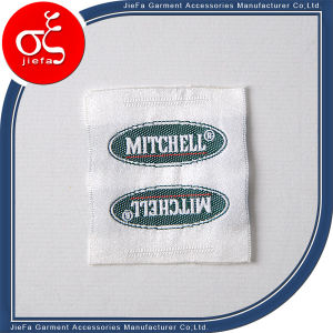 Wholesales Satin Woven Label/Clothing Woven Label pictures & photos