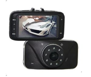 4 X Digital Zoom 2.7 Inch LCD Screen Auto Black Box Car DVR with LED Night Vision Light