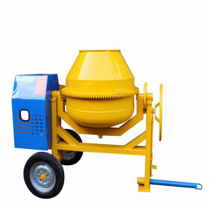 140L Concrete Cement Mixer Mortar Portable Electric Concrete Mixer pictures & photos