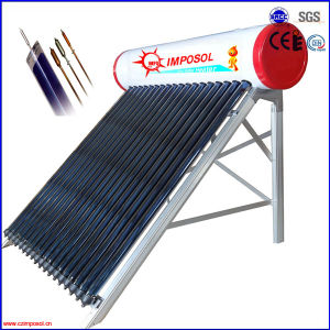 Pressurized Solar Energy Water Heater pictures & photos