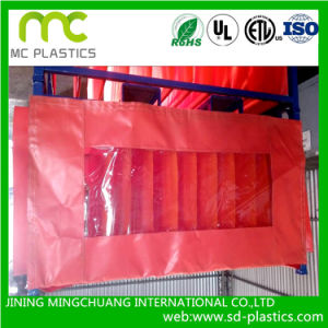 Transparent PVC Laminated Tarpaulin for Curtains pictures & photos