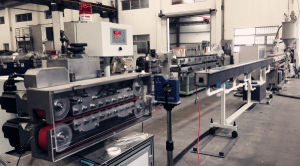 CE Standard PA Tube Extrusion Line