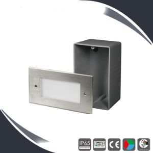 SMD3020 Waterproof LED Step Wall Outdoor Lighting Recessed pictures & photos