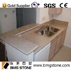 Yellow Granite Countertop Vanity Top