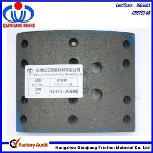 41443-38608 Hino Rear Brake Lining