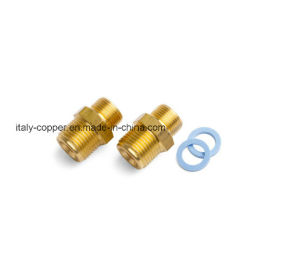 OEM Brass Equal Nipple (AV90080) pictures & photos
