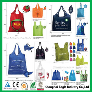 High Quality Personalized Polyester Christmas Foldable Gift Bags pictures & photos