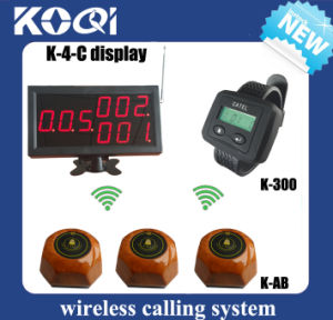 CE Approved 433.92MHz Wireless Restaurant Table Call System pictures & photos
