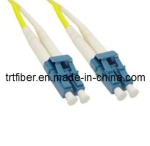 LC/Upc-LC/Upc Om3 10g 50/125um Duplex Fiber Optic Patch Cords pictures & photos