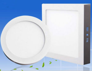 18W 8 Inch Round LED Panel Light LED Round Square Ceiling Light