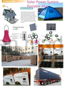 New Style Handle Mini Solar Light Kit Solar Panels pictures & photos