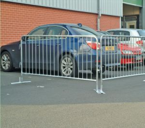 Galvanized Steel Road Block Traffic Barrier/Pedestrian Barrier for Events pictures & photos