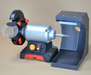 Ax-J1 Dental Laboratory Cutting and Polishing Lathe pictures & photos