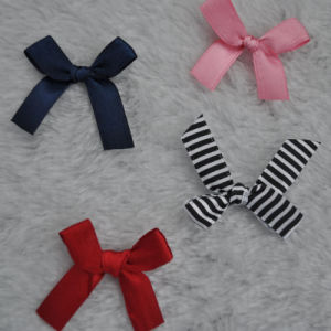 Decorative Bowknot Satin Ribbon for Garment Accessories pictures & photos