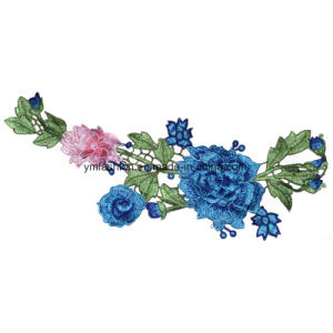Garment Accessories Embroidery Flower Ym-17 pictures & photos