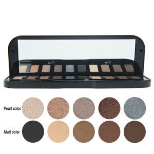10 Color Eyeshadow Makeup Palette with Luminous and Matte Eye Makeup Es0318 pictures & photos