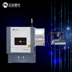 150W Fiber Laser Cutting and Drilling System for Stailess Steel Keypad pictures & photos