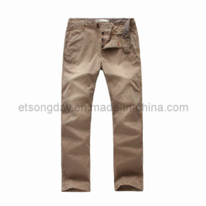 Khkai Cotton Spandex Men′s Trousers (GDP-54) pictures & photos