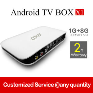Network Smart TV Box X1 OEM/ODM pictures & photos