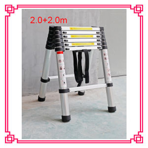 Telescopic Ladders/ Aluminum Ladder/ Folding Ladder pictures & photos