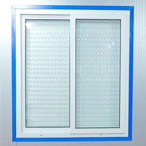 Aluminium Roller Shutter Window (42mm slats) pictures & photos