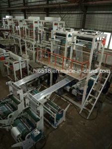 Single-Screw and Double-Die HDPE/LDPE Film Blown Machine pictures & photos