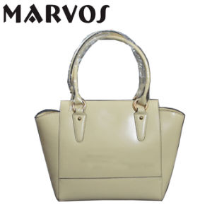 Fashion New Arrived Leather Ladies′ Hand Bag/China Wholesale (080)