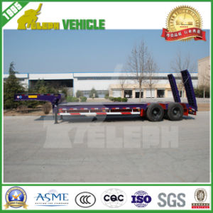 2 Axles 30 Ton Cimc Low Bed for Semi Trailer pictures & photos