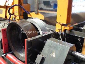 PLC Pipe Cutting Band Saw Machine (PCBSM-16BA/24BA/32BA) pictures & photos