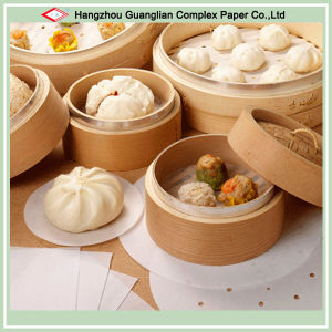 Customize Baking Paper Pad with Holes for Bamboo Steamer Use pictures & photos