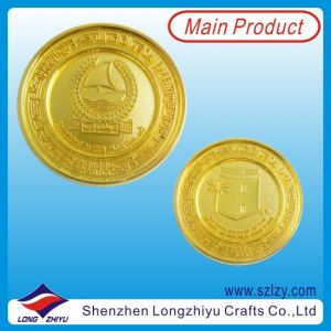 24k Pure Gold Plating UAE Gift Comemorative Coins pictures & photos