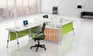 New Modern Office Staff Desk Computer Workstation Furniture (HF-A17) pictures & photos