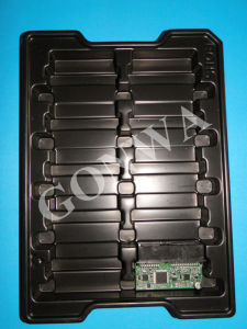 Black Clamshell Tray for PCB Packaging