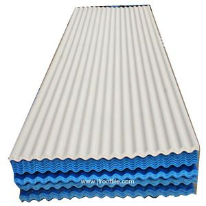 Sea Wave 1-Layer PVC Roof Sheet with Competitive Prices pictures & photos