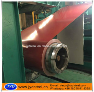 China Steel Coil PPGI with Red Color pictures & photos