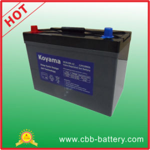 100ah 12V Auto Terminal Deep Cycle Gel Battery for Marine pictures & photos