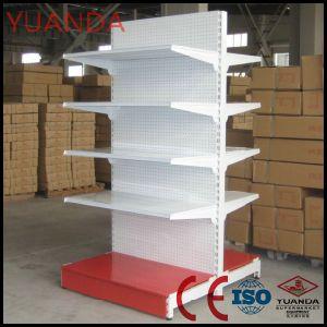 Yuanda Factory Wholesale Black Gondola Shelves pictures & photos
