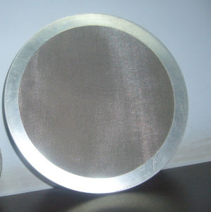 Plastic Extruder Screen Filter/Woven Wire Mesh Filter/Wire Mesh Filter Disc pictures & photos