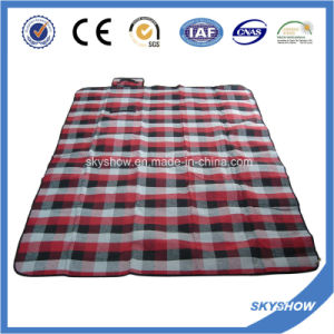 Plaid Travel Blanket Mat (SSB0193) pictures & photos
