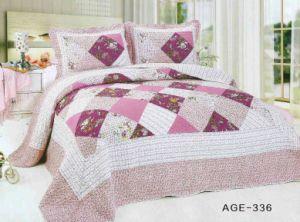 100% Cotton Patchwork Bed Sheet Set (T80) pictures & photos